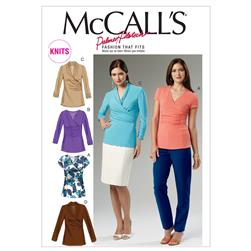McCall's Misses Tops Pattern M6513 Size A50