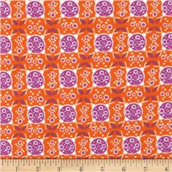 Valori Wells Ashton Road Flannel Geo Plaid Orange Spice