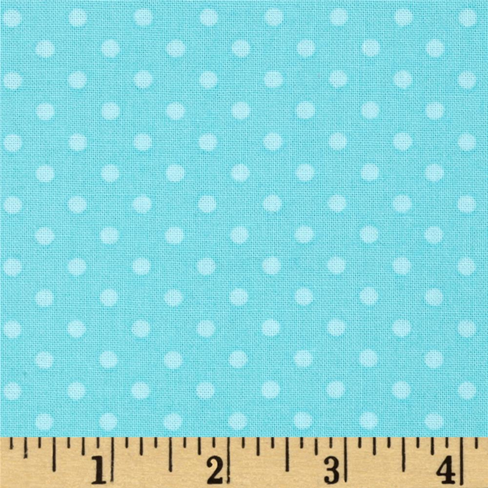First Words  Polka Dot Aqua