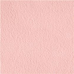 WinterFleece Velour Light Pink Fabric