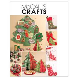 McCall's Holiday Decorations Pattern M5778 Size OSZ