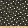 By the Sea Bay Nautical Star Charcoal/White
