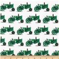Kaufman Everyday Favorites Tractors Green