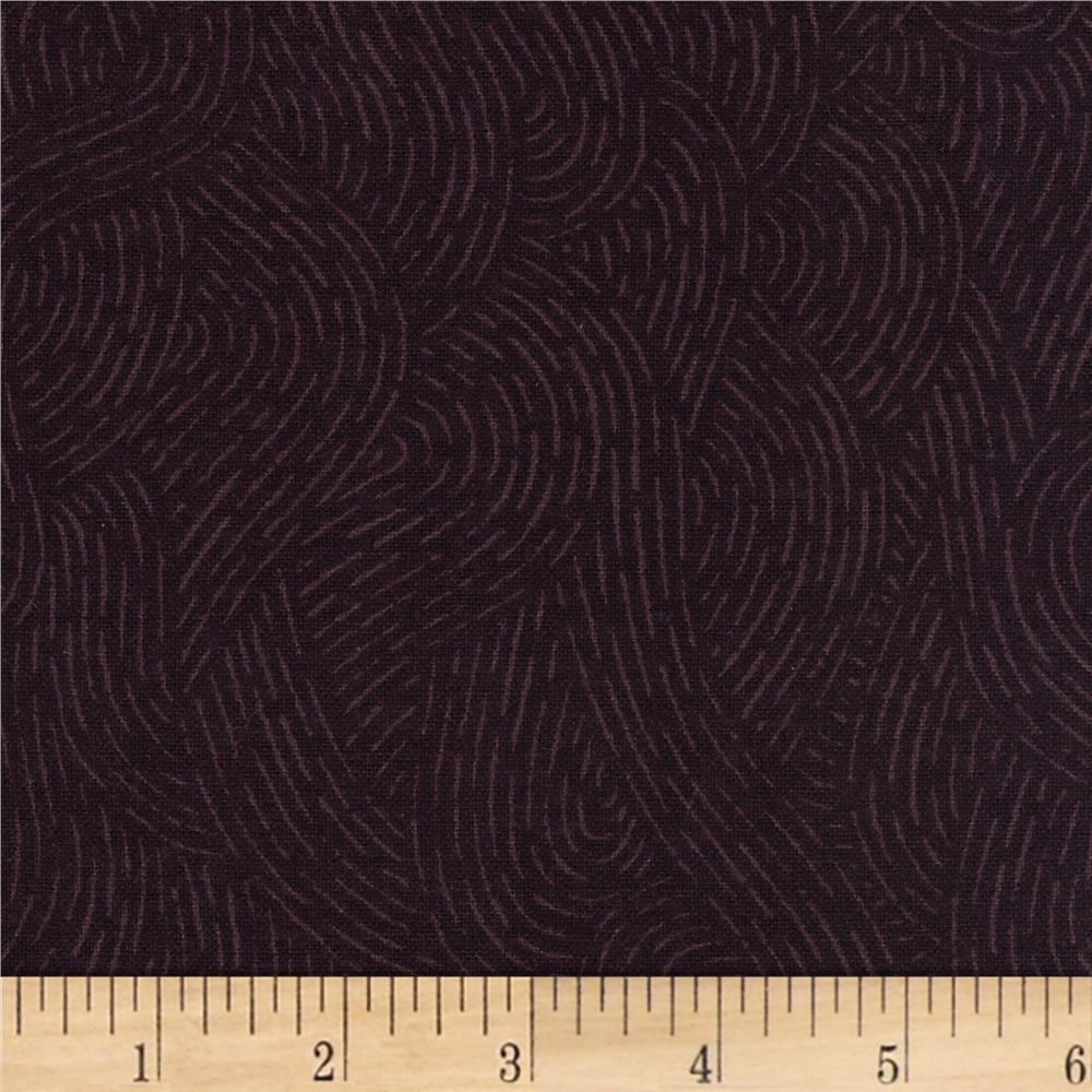 110'' Wide Flannel Quilt Backing Seacoast Raisin Fabric By The Yard