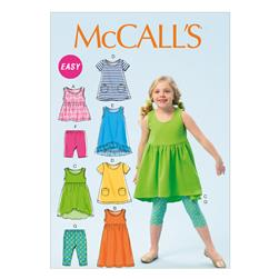 McCall's Children's/Girls' Dresses Pattern M6947 Size CDD