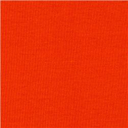 T-Knit Ribbing Orange