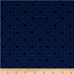 Heather Bailey True Colors Zen Dot Cobalt