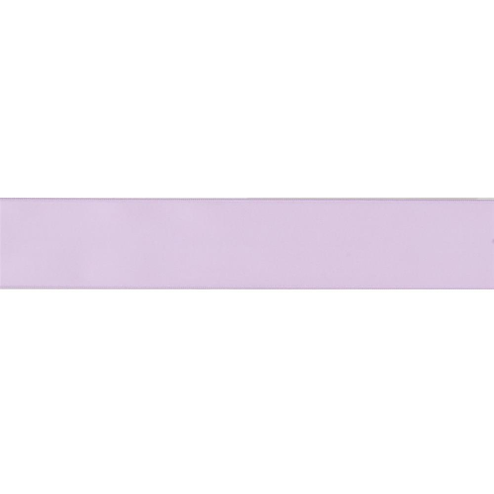 "May Arts 1 1/2""  Double Sided Satin Ribbon Spool Lavender"