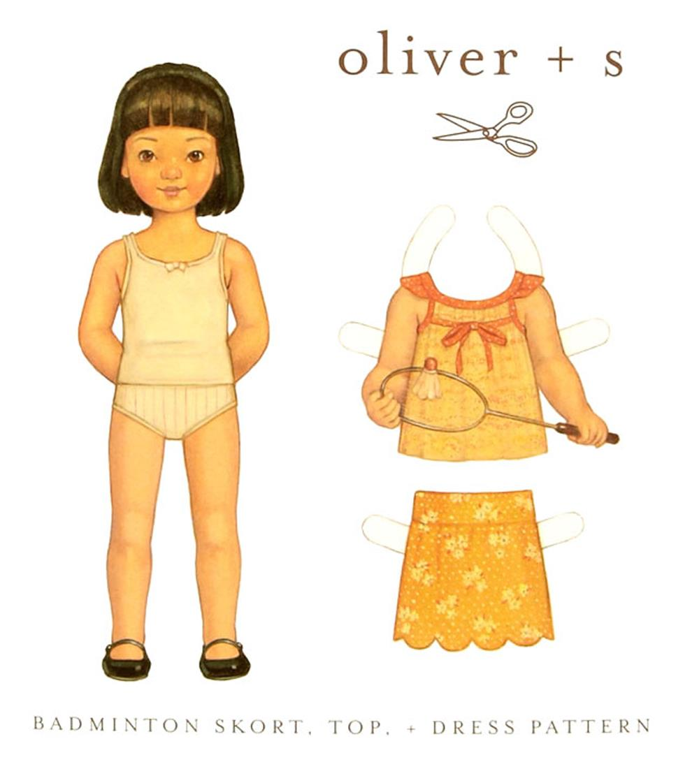 Oliver + S Badminton Skort, Top + Dress