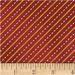 Galileo Diagonal Stripe Red