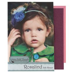 Violette Field Threads Rosalind Flower Kit Pink/Red