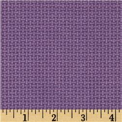 Chelsea Cross Weave Blender Purple