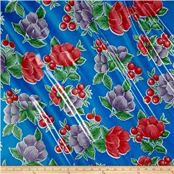 Oilcloth Poppy Blue