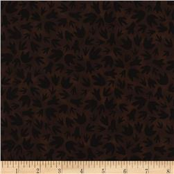 Timeless Treasures Dino Paw Prints Brown