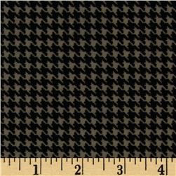 North By Northwest Flannel Great Scotts Houndstooth Silver