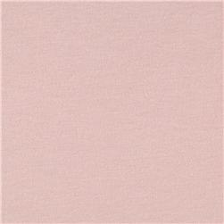 Organic Cotton Jersey Knit Baby Pink Fabric