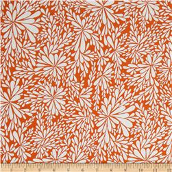 Valori Wells Quill Leaf Spray Mango Fabric