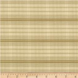 Penny Rose C. 1890 Plaid Khaki Fabric