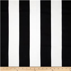 Premier Prints Vertical Stripe Black/White Fabric