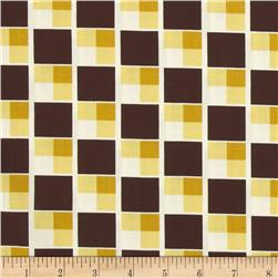 Denyse Schmidt Hadley Diagonal Blocks Sunflower Fabric