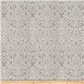 Fabricut Emmer Damask Faux Silk Grey