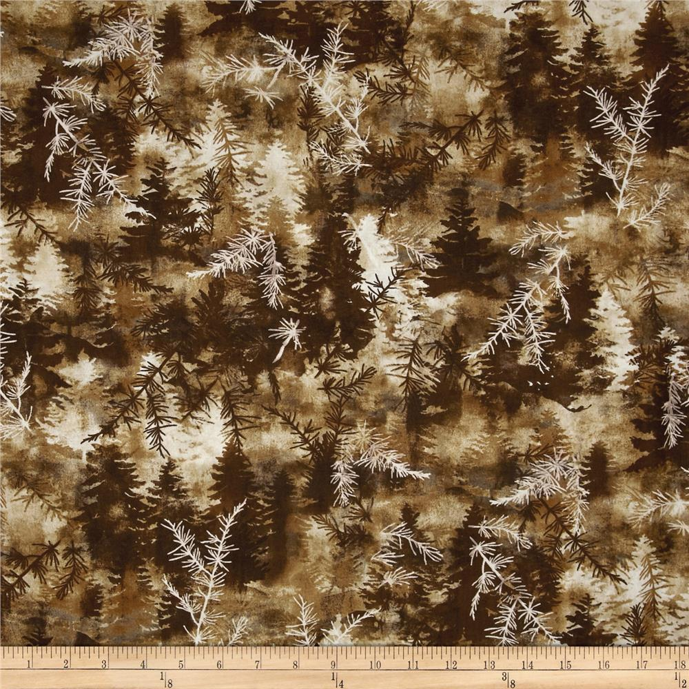Kanvas Into The Woods Ii Pine Forest Brown Discount