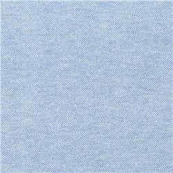 Oxford Shirting Solid Blue Fabric