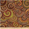 Kaffe Fassett Spring 2014 Collective Earth Curly Baskets Brown