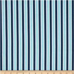 Riley Blake Play Ball Stripe Navy