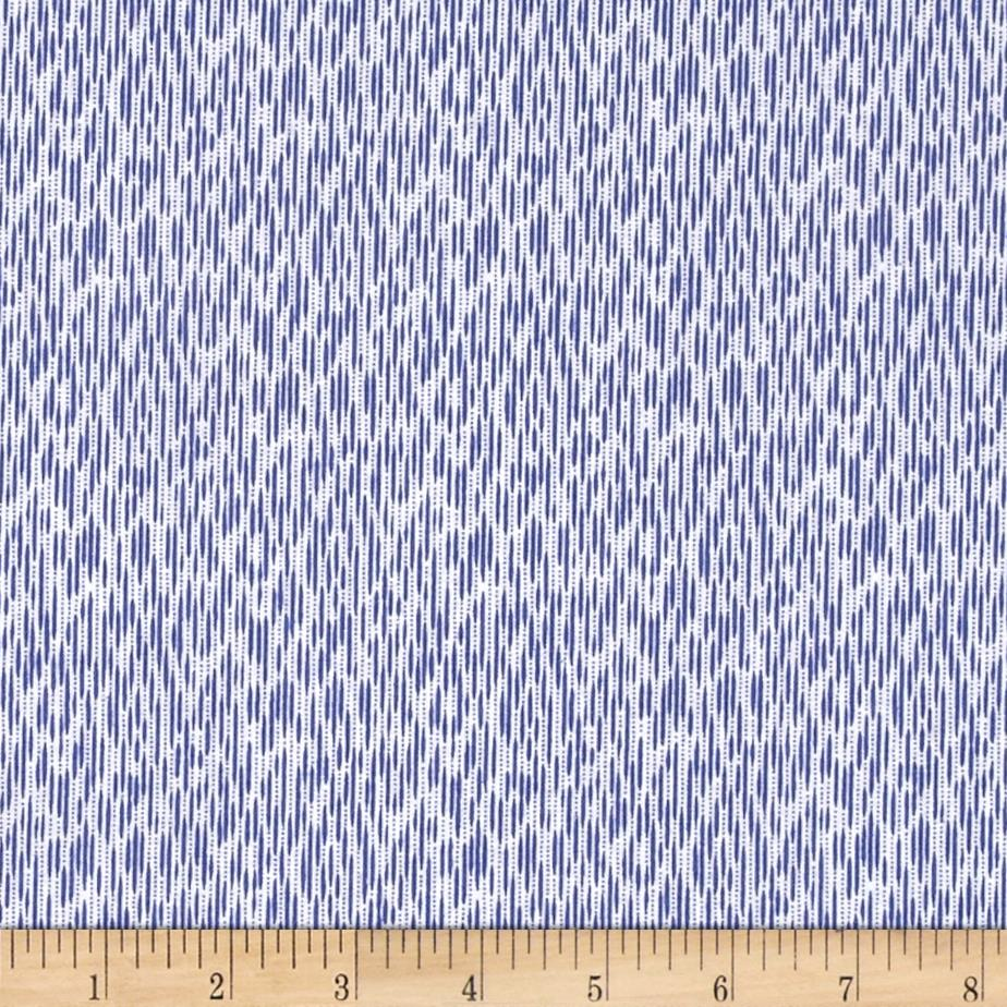 Windham Modern Country Ikat  Periwinkle