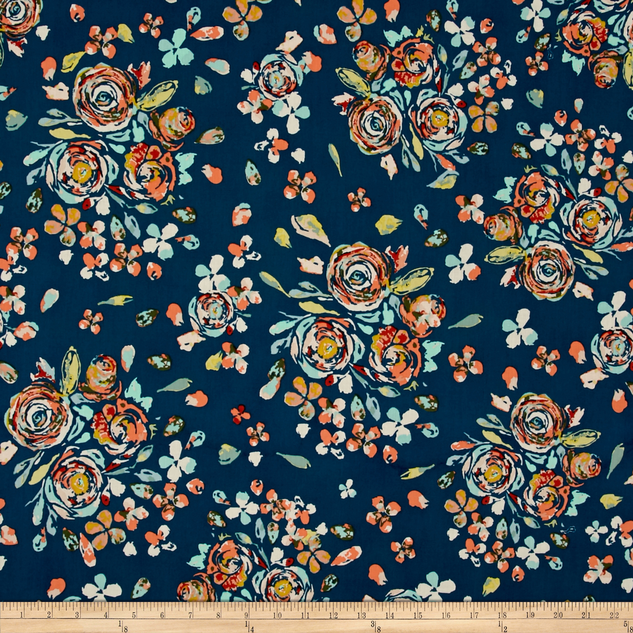 Art Gallery Fleet & Flourish Voile Swifting Flora Swell Fabric by Art Gallery in USA