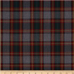 School Uniform Plaid Red/Grey