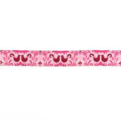 1 1/2'' Ribbon Birdie Damask Petal