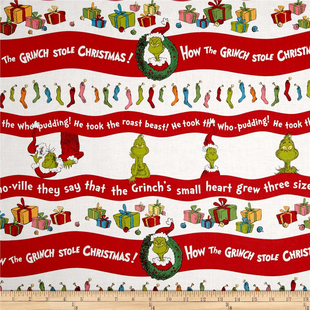How The Grinch Stole Christmas Grinch Stripe Holiday