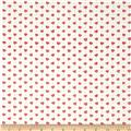 Moda Ever After Tossed Hearts Ivory/Pink
