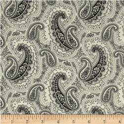 Letters from Paris Paisley Black