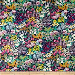 Liberty of London Tana Lawn Painter's Meadow Blue