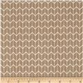 Cosy Home Chevron Beige