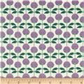 Vermont State Flower Red Clover Purple/Green/White