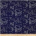 Birch Organic Saltwater Stars Of The Sea Blue