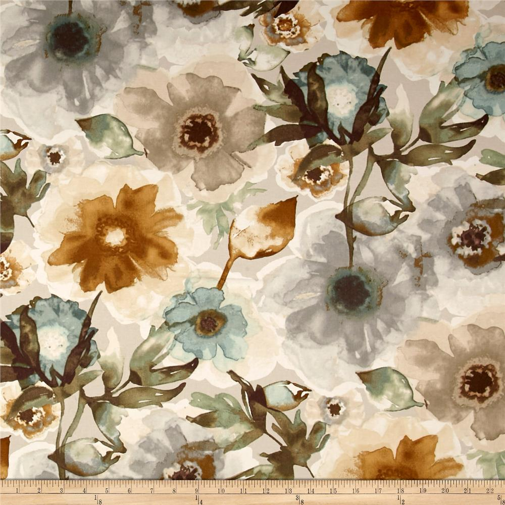 Studio NYC Petal Press Twill Mineral Discount Designer Fabric