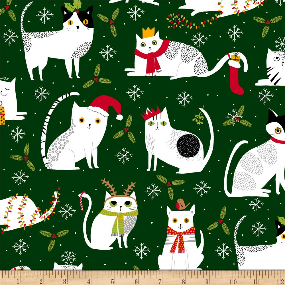 Meowy Christmas.Ink Arrow Meowy Christmas Christmas Cats Forest