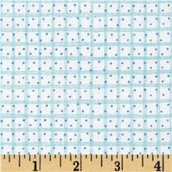 Snow Much Fun Plaid & Dot Blue