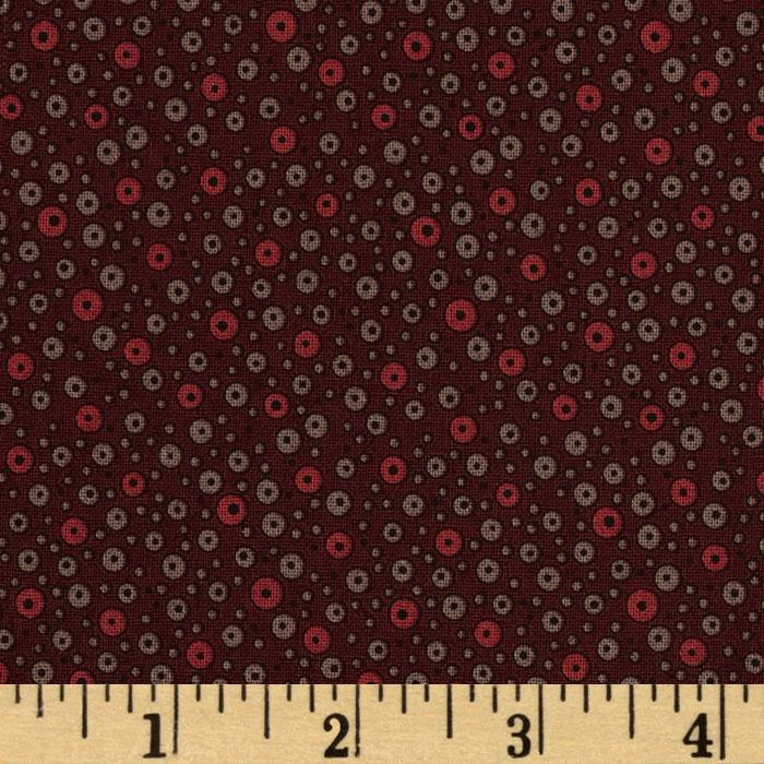 Flea Market Fancy Legacy Collection Fizzy Dots Brown