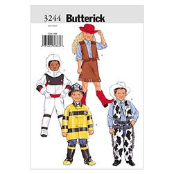 Butterick Children's/Boys'/Girls' Costume Pattern B3244 Size 020