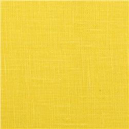 Medium Weight Linen Yellow