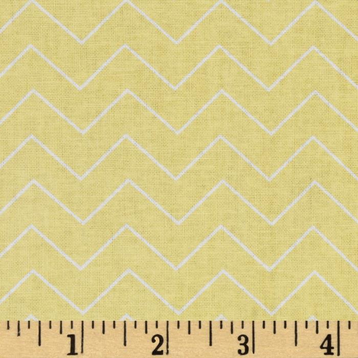 DIY Chevron Lemon