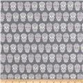 Sweet Rebellion Sugar Skulls Gray