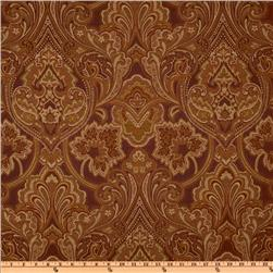 Eroica Hollyhock Damask Jacquard Merlot
