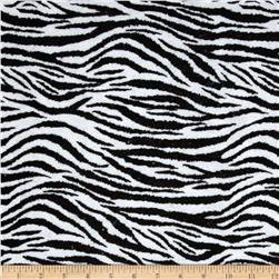 "Fanci Felt 36"" x By the Yard Zebra Black/White"